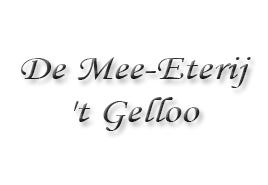 De mee-eterij 't Gelloo